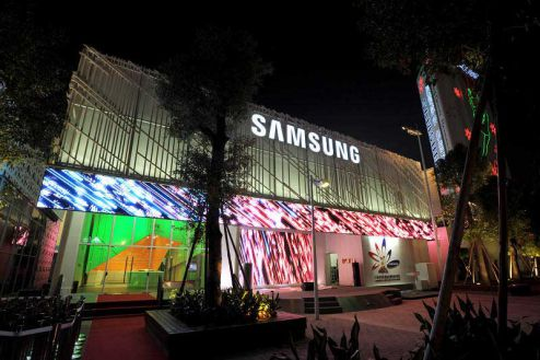 Samsung Pavilion in Guangzhou Asian Game 2010
