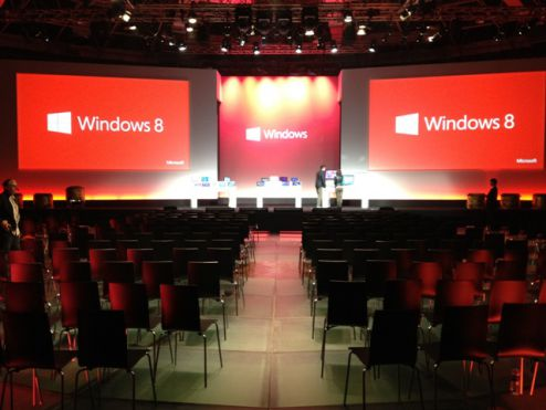 Microsoft Windows 8 launch, Shanghai